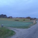 1km - på vej ud af Nordby.