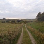 9km - lidt markvej ved Thomasminde, mod Langdalen.